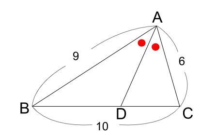 中学数学・高校受験chu-su- 角の2等分と線分の比 6