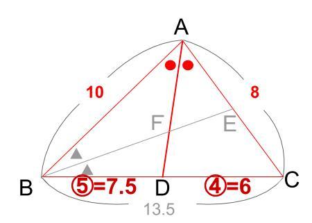 中学数学・高校受験chu-su- 角の2等分と線分の比 9