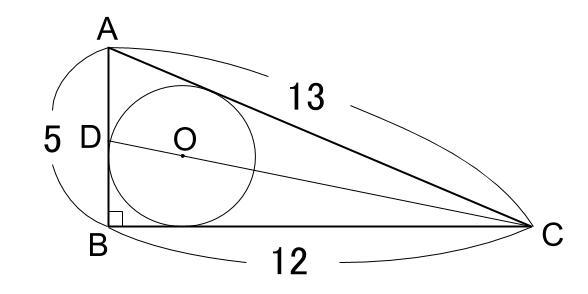 中学数学・高校受験chu-su- 内接円と角2等分 その1