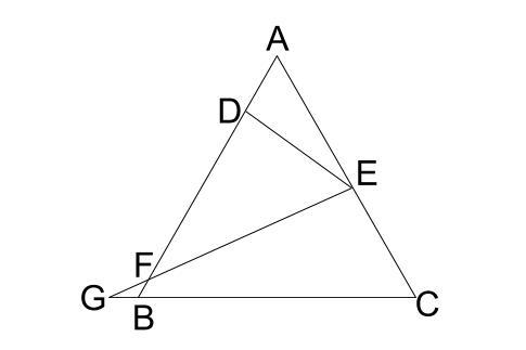中学数学・高校受験chu-su- 正三角形 相似 難問0