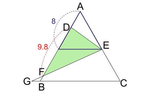 中学数学・高校受験chu-su- 正三角形 相似 難問3