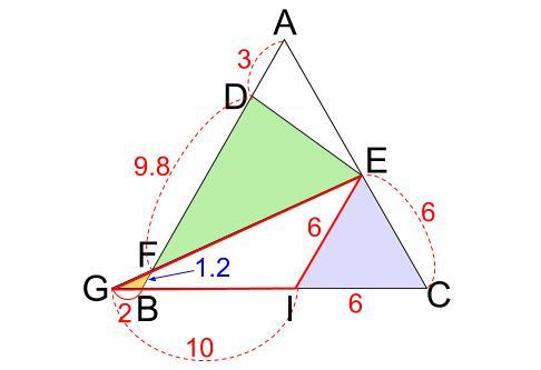中学数学・高校受験chu-su- 正三角形 相似 難問4