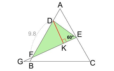 中学数学・高校受験chu-su- 正三角形 相似 難問6
