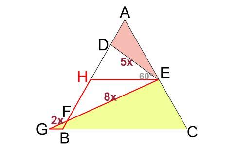 中学数学・高校受験chu-su- 正三角形 相似 難問7