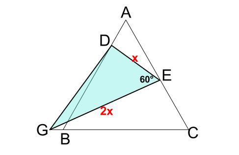 中学数学・高校受験chu-su- 正三角形 相似 難問8