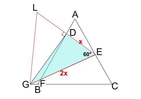 中学数学・高校受験chu-su- 正三角形 相似 難問9