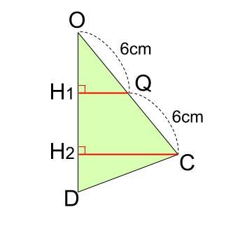 中学数学・高校受験chu-su- 三角錐表面に糸を巻く 4周 その9