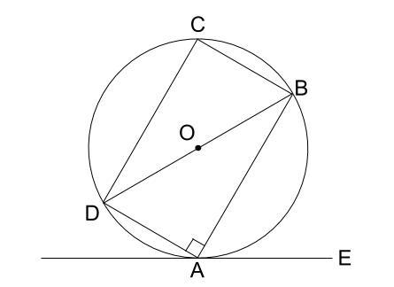 中学数学・高校受験chu-su- 接弦定理の例題1-2