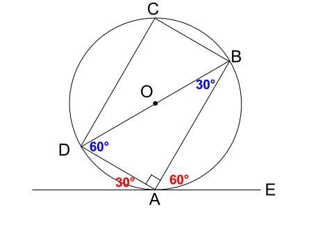 中学数学・高校受験chu-su- 接弦定理の例題1-3