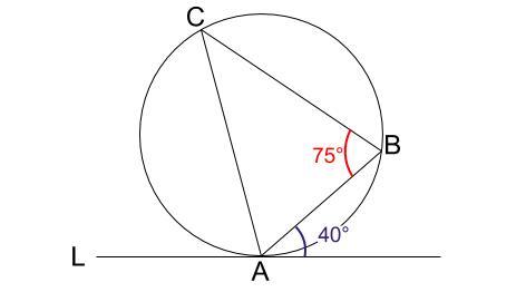 中学数学・高校受験chu-su- 接弦定理 その2